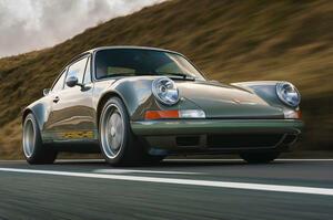 【376psの空冷フラット6】ポルシェ964型911をフルレストア 細部に現代的アップグレード 英国