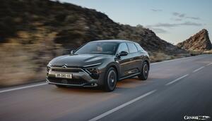 シトロエンの新たな旗艦「C5 X」誕生! SUVとワゴンがブレンドされた独創的ボディは名車CXの再来か?