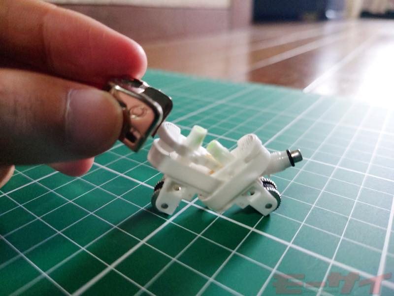 100円ライターがバイク風模型に大変身!実際に作ってみたよ