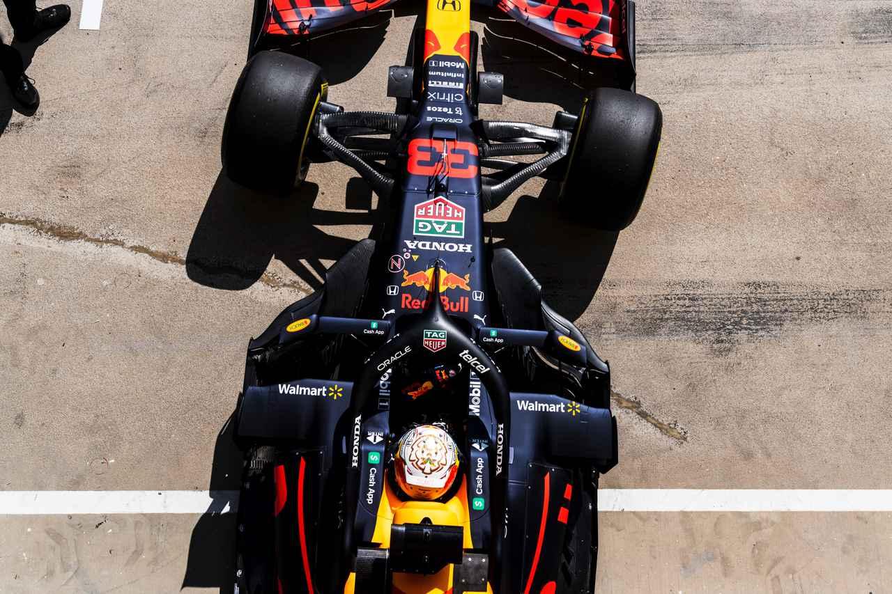 2021年F1第11戦、フェルスタッペンがフリー1回目のトップタイムをマーク、ホンダ勢は好調なスタート【ハンガリーGP】