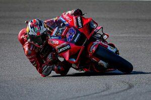 MotoGP第16戦エミリア・ロマーニャGP:ウエットコンディションの初日はミラーが総合トップ。クアルタラロは18番手に沈む