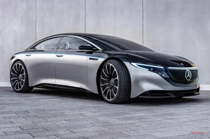 【詳細情報】AMG版メルセデスEQS、2022年発売 600ps超えの電動高級サルーンか 欧州