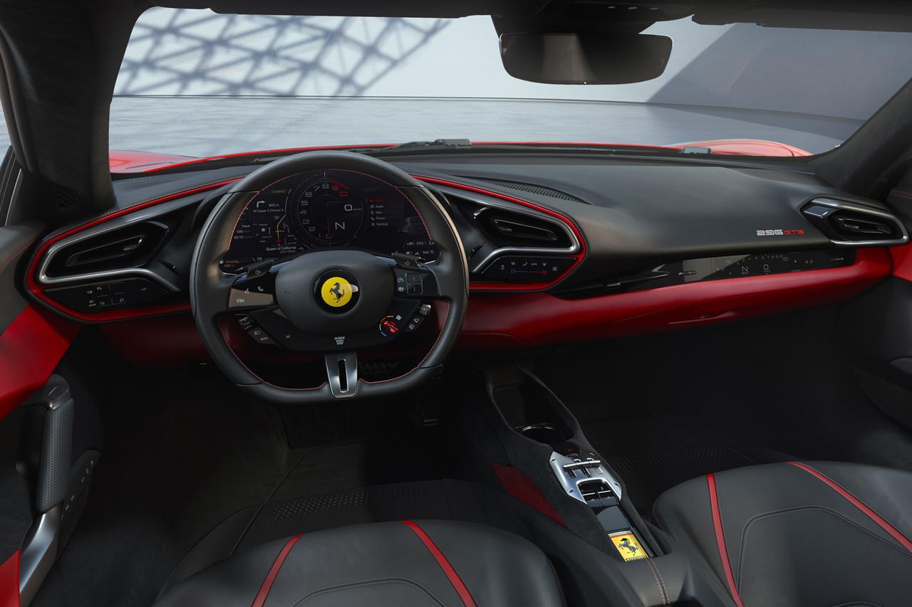フェラーリ初の6気筒搭載ロードカー「296 GTB」発表。総合出力830psのスーパーハイブリッドモデル