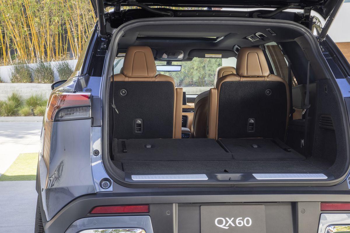 写真で見るニューモデル インフィニティ「QX60」