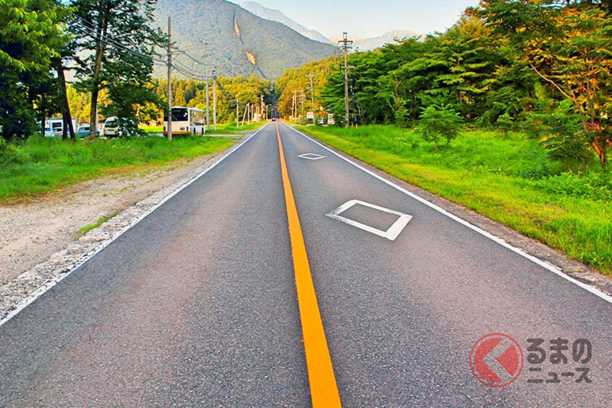 いまさら聞けない道路の車線!「白線とオレンジ線」の違いはナニ?