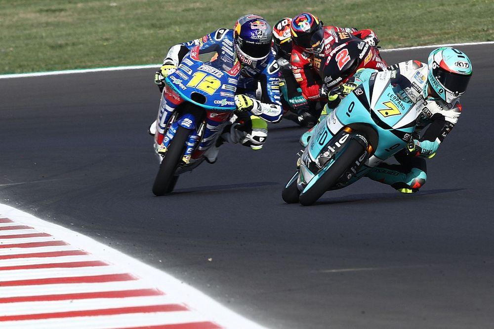Moto3サンマリノ決勝:フォッジアが2連勝でランク2番手浮上。日本勢は佐々木が10位でトップ