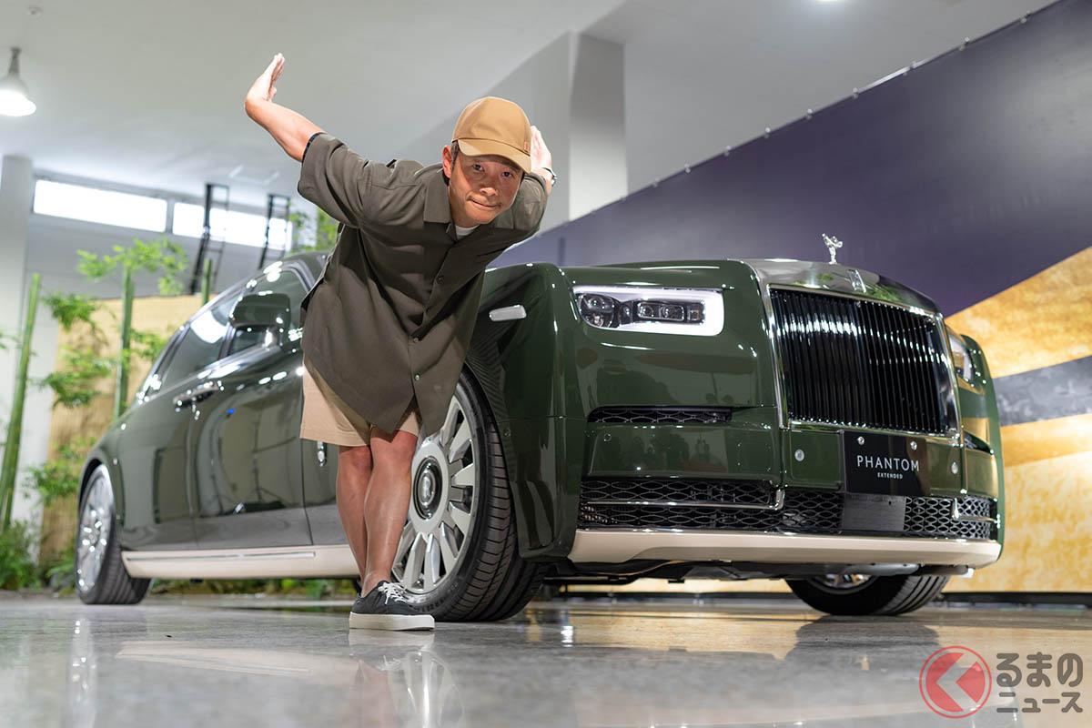 前澤友作氏に納車! エルメスとロールス・ロイスがコラボした世界「ファントム・オリベ」が日本上陸!!