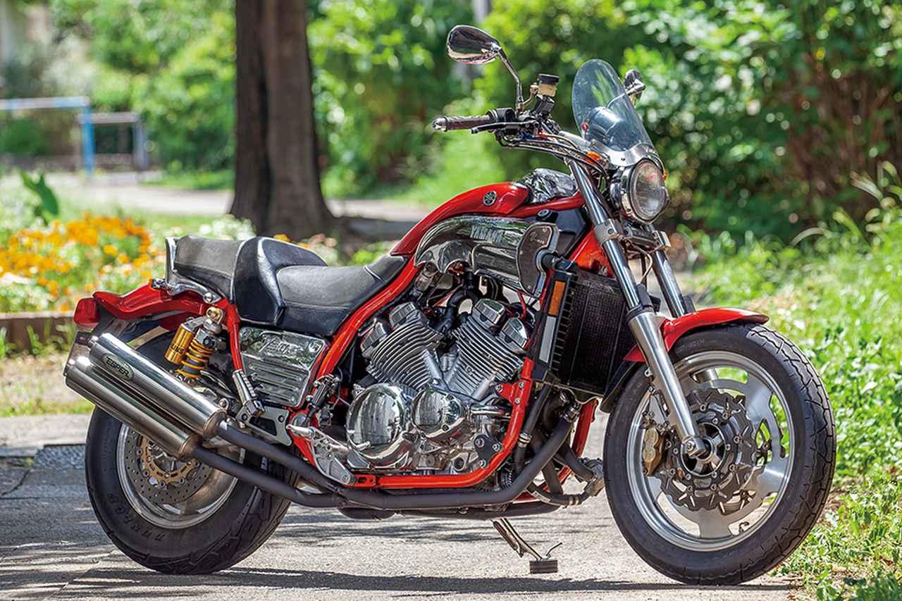 エスパーVMAX1200(ヤマハVMAX1200)系列モデルのエンジンで上質クルーザーに変貌【Heritage&Legends】