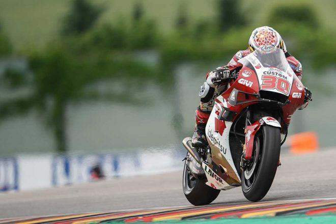中上貴晶「13位には満足できませんが、気持ちを切り替えて次に集中したい」/MotoGP第8戦ドイツGP決勝