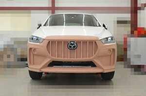 【スクープ】エアロ開発続報!! 話題の欧州車的CX-3のボディキットはクレイモデルを製作中!!