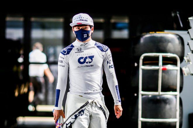 角田裕毅、0.026秒差で予選Q1敗退「トラフィックに苦しみ16番手という結果に」アルファタウリ・ホンダ/F1第10戦