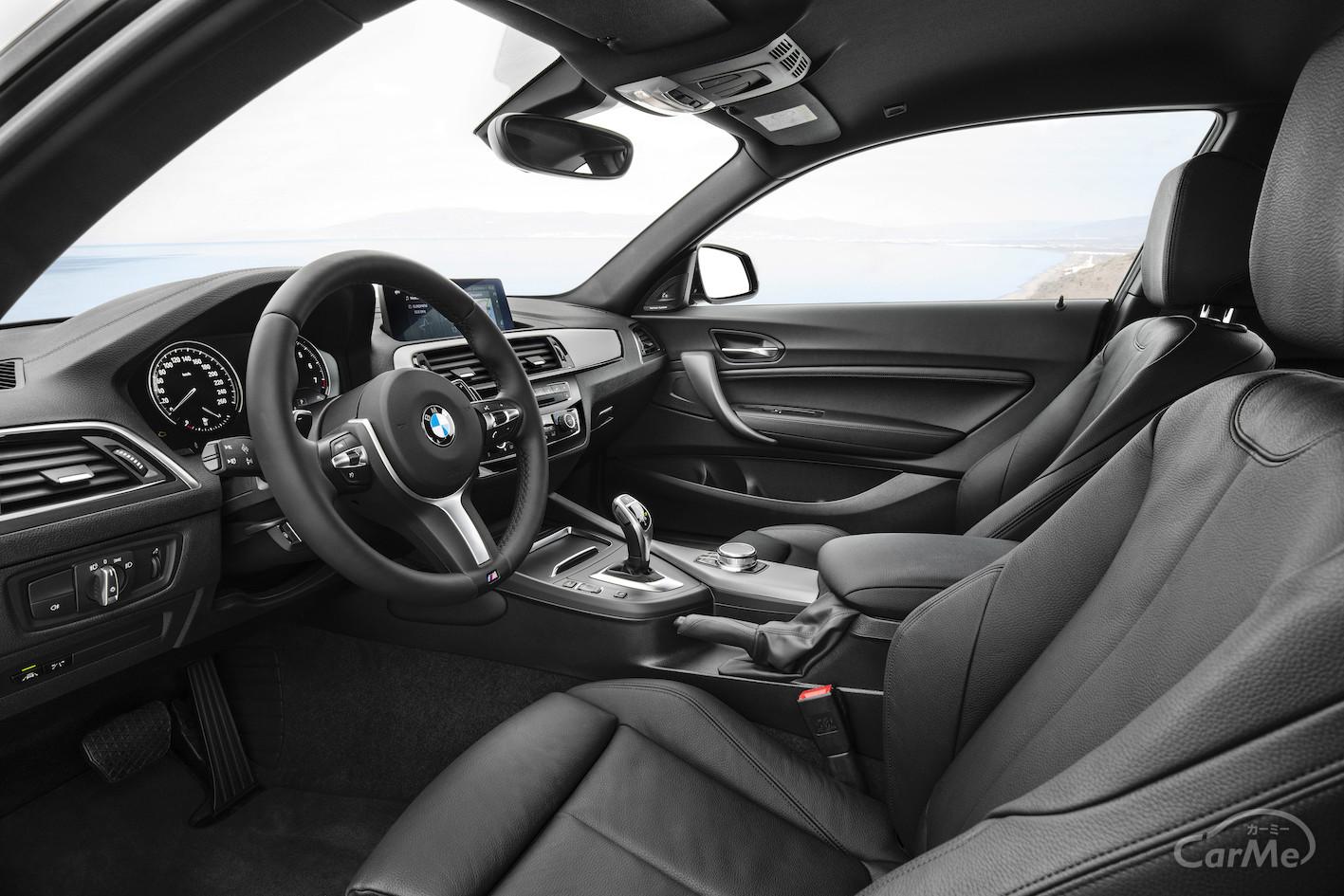 BMW 2代目2シリーズのインパネは豊富な機能を搭載!