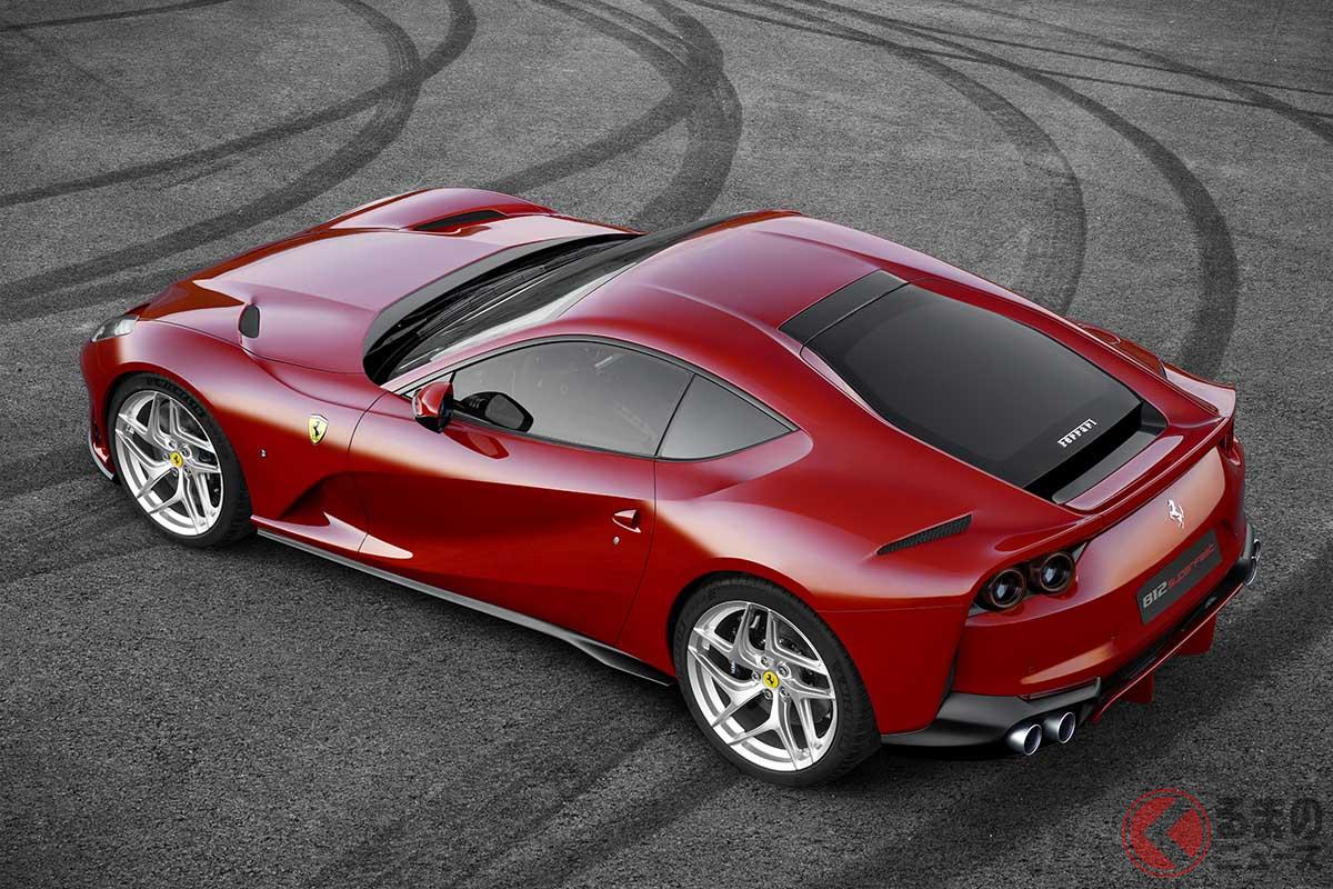 フェラーリ最後の自然吸気V12モデル!? 争奪戦間違いなしのリミテッドエディション登場