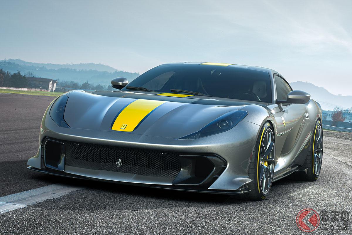 フェラーリ最新「812コンペティツィオーネ」は6500万オーバー! 999台限定で受注スタート
