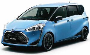 トヨタ、「シエンタ」一部改良 2種類の特別仕様車を設定