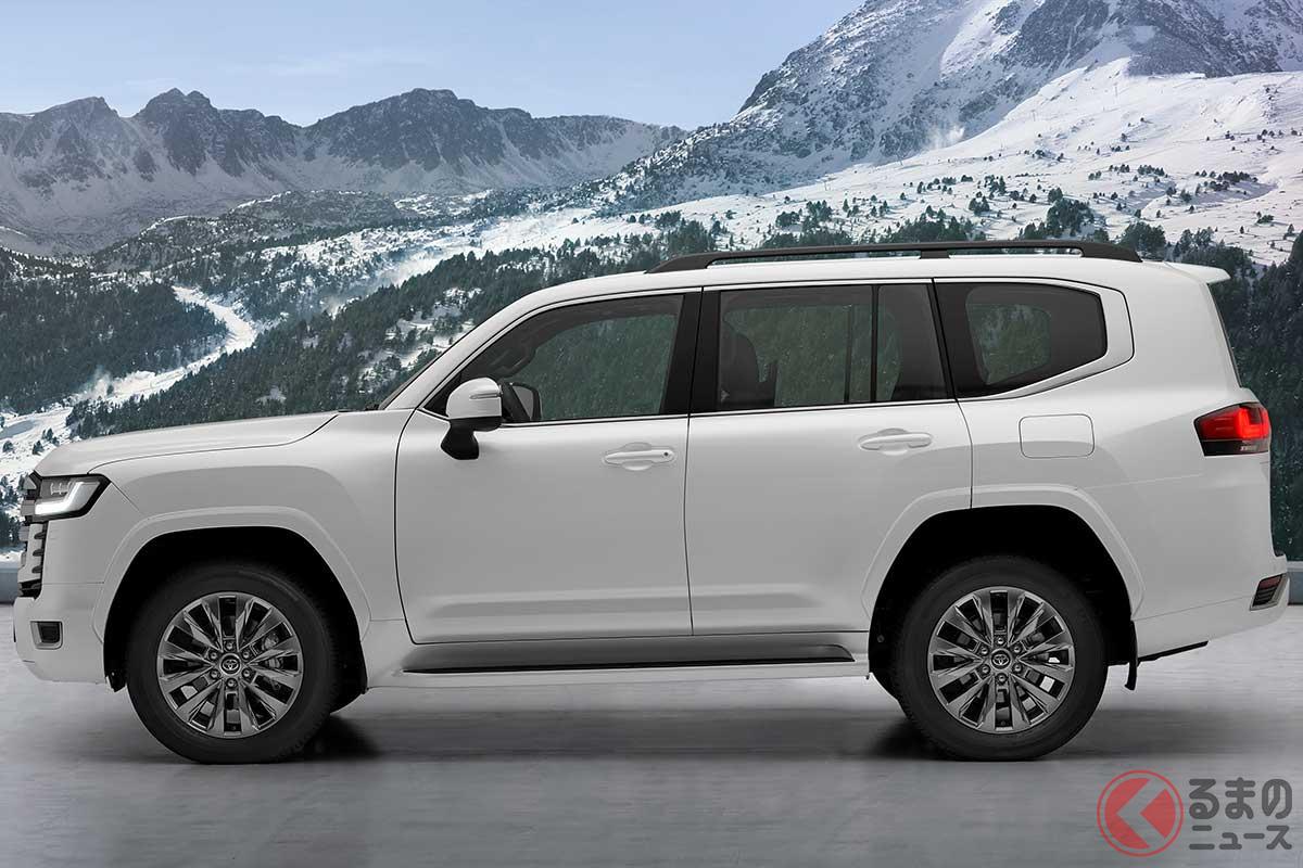 盗難最多のトヨタ「ランクル」はもう盗まれない!? 新型モデルに搭載される「指紋認証システム」とは