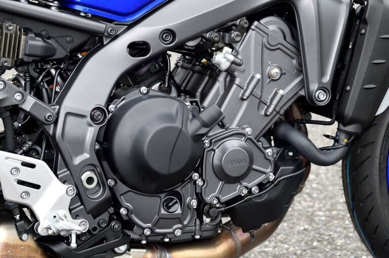 ヤマハMT-09/SPディテール写真解説【エンジン/フレーム/電子制御:全盛りフルモデルチェンジ】