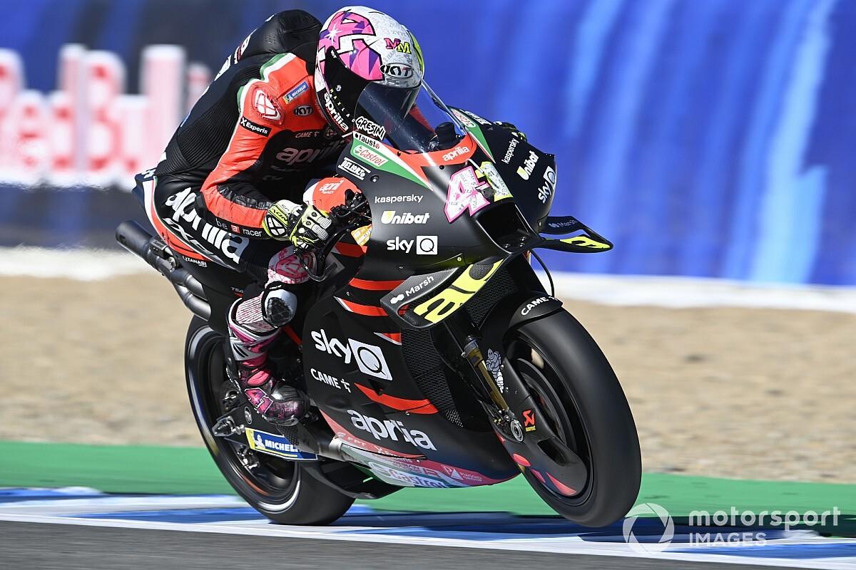 "【MotoGP】アプリリアとグレシーニ、来季関係継続の可能性は? エスパルガロは""4台最新マシン供給""を要望"