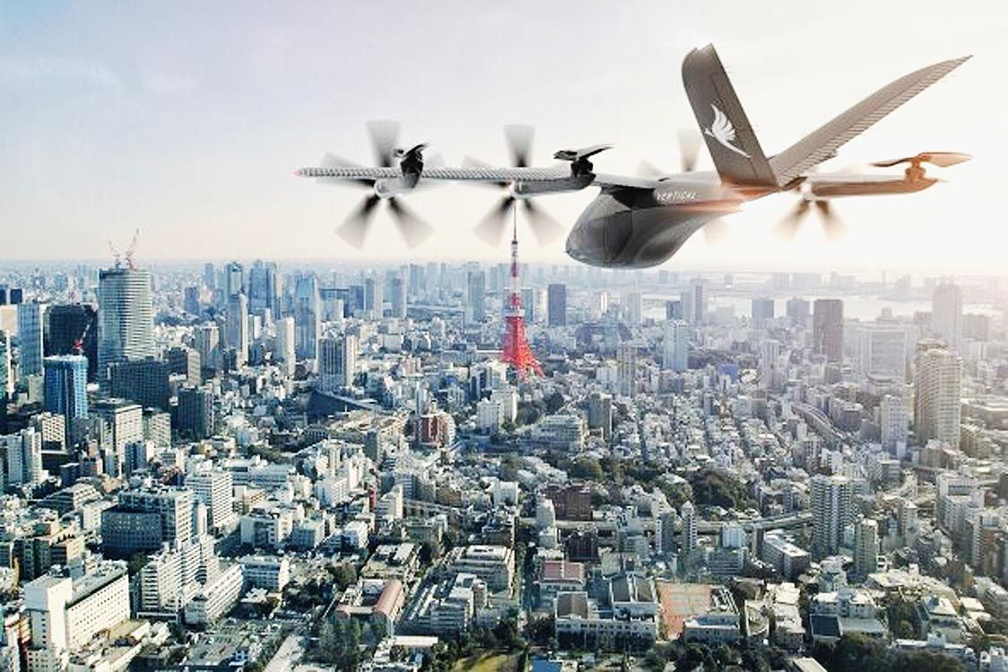 丸紅、エアモビリティ事業でeVTOL手がける英国バーティカルエアロスペースと業務提携 日本での事業化を検討