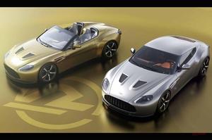 【19セット限定】アストン マーティン/ザガート コラボ60周年記念 609psの特注2モデル、今夏発表 英国