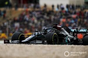 F1ポルトガル決勝:ハミルトン、圧勝! F1最多勝記録を更新する92勝目。レッドブル・ホンダのフェルスタッペン3位
