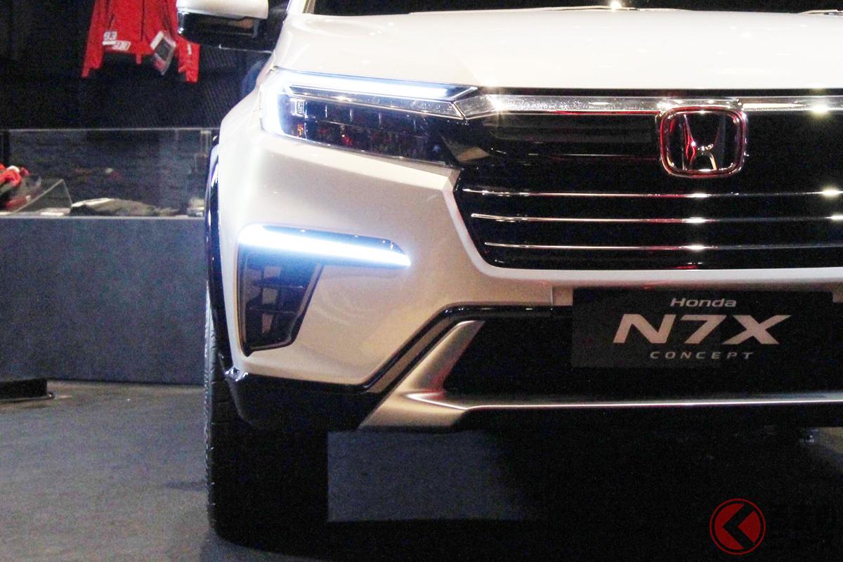 ホンダ新型SUV「N7X」がイケてる! インドネシアで登場した7人乗りSUVの姿とは
