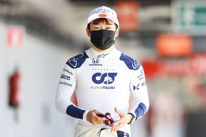 「クルマに慣れていないと気付いてよかった」ドライビングを見直すきっかけを掴んだ角田裕毅/F1第4戦直前インタビュー