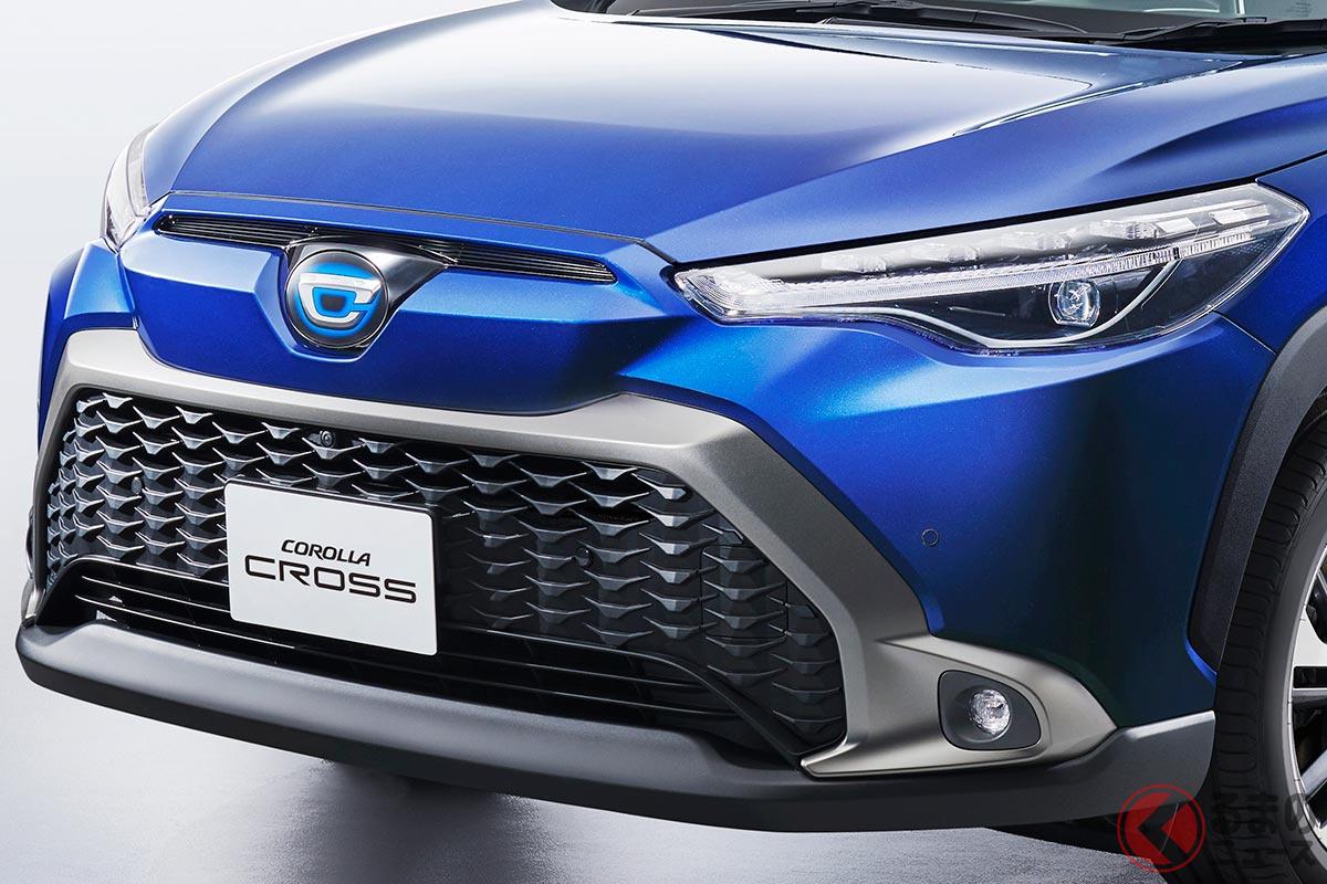 """新型「カローラクロス」登場でトヨタSUVが万全の体制に! 魅力的でも""""爆売れ""""とならないワケ"""