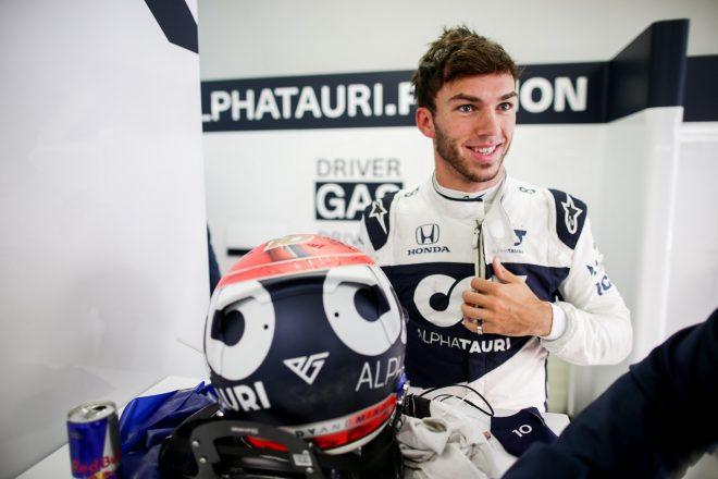 ガスリー初日3番手「シャルルとマックスの降格で、僕たちにチャンスが巡ってくる」アルファタウリ・ホンダ/F1第15戦
