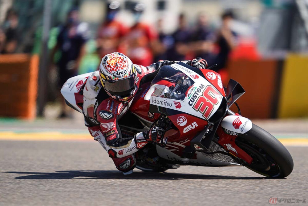 【MotoGP第13戦アラゴンGP】中上貴晶選手、MotoGP参戦通算200戦を達成。レースは10位フィニッシュ