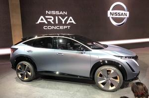 【北京モーターショー開幕】日産アリア、来年に中国発売 2025年までに電動車9モデルを投入へ