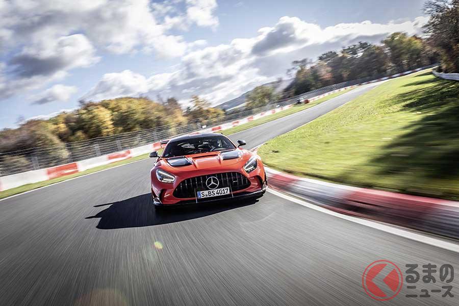 ニュル最速の市販車の称号が「メルセデスAMG GT」の手に! その圧倒的なタイムは