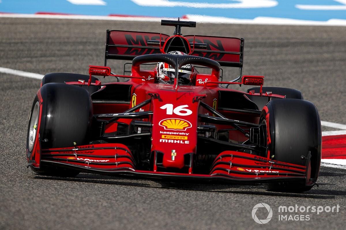 フェラーリのルクレール、今季のF1マシンは「コーナー進入が難しい」と解説