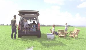 【車中泊、無加工で】シトロエン・ベルランゴにアグレ・ベッドキット ディーラー販売