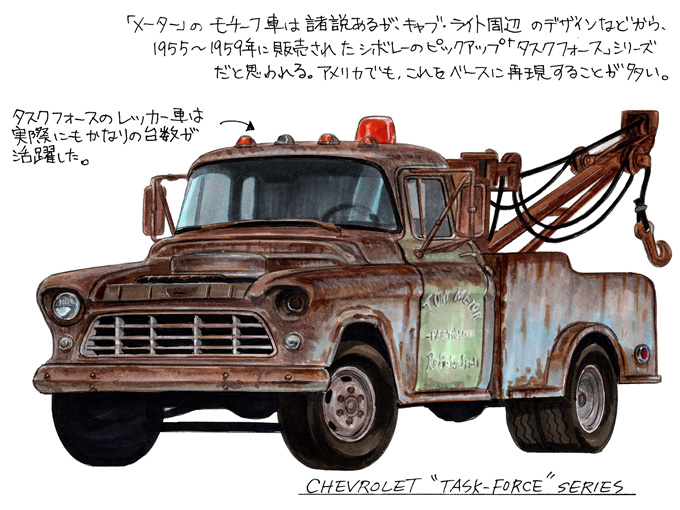 【図説で愛でる劇中車 第14回】映画「カーズ」シリーズに登場するキャラクターのモチーフとなった車たち