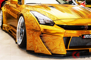 金ピカ「GT-R」がヤバ過ぎる! 石油王用のド派手モデルが4500万円超え!