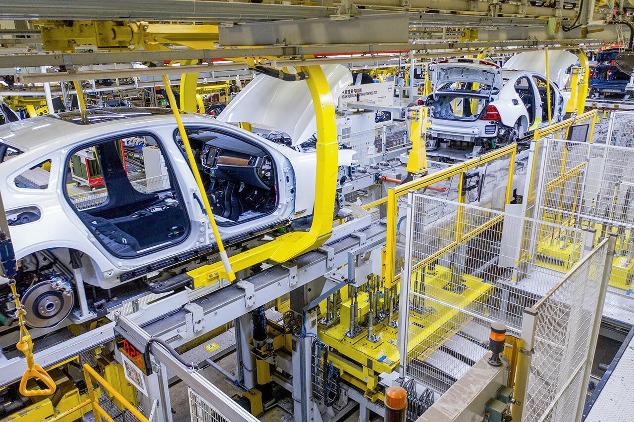 ボルボの中国・大慶工場が使用電力を100%クライメート・ニュートラル化!