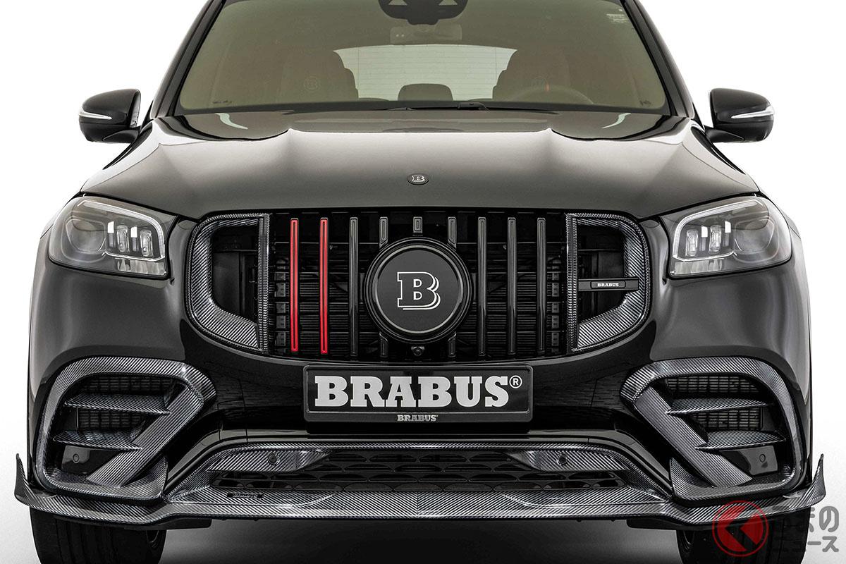 ブラバスがAMG「GLS63」をスーパーカー級の加速に! 800馬力チューニングのヒミツとは