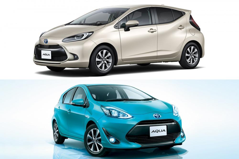 【新旧比較】新型トヨタ・アクア 燃費やサイズ 先代との違いは