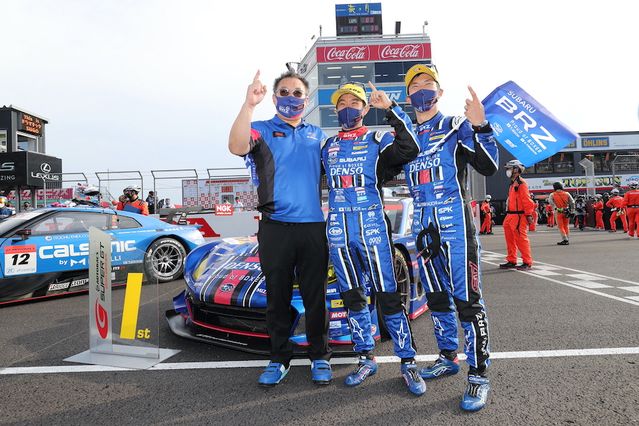 スーパーGT第5戦 SUGO SUBARU BRZ GT300 待望の今季初優勝