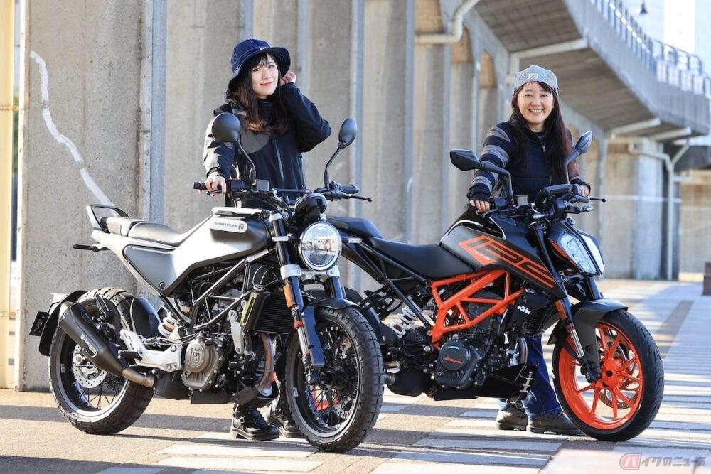 初心者女子ライダー高梨はづきが、最近注目されている海外モデルの原付二種、KTMとハスクバーナの2台で横浜をゆる~り女子ツーリングしてみました!