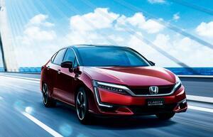ホンダの燃料電池車「クラリティ フューエルセル」が一部改良! ドアミラーやホイールのカラーを刷新して質感アップ