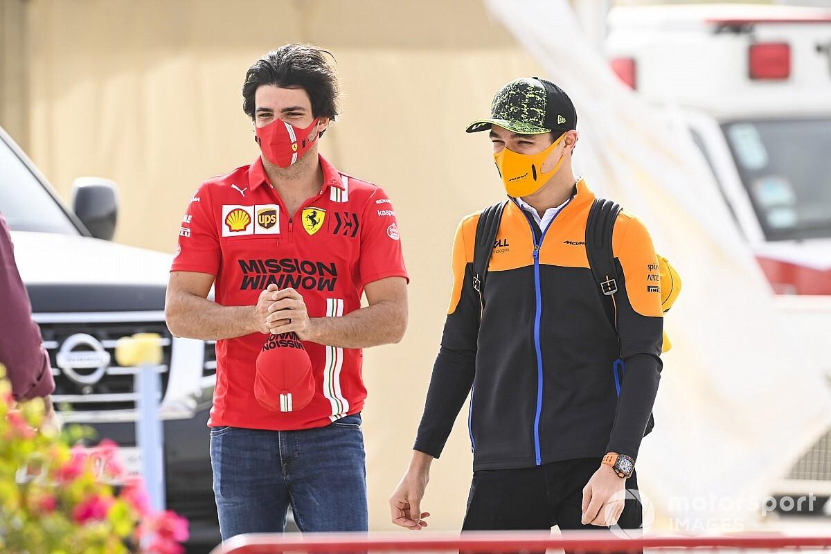 F1モナコ2位のサインツJr.、バクーでは「マクラーレンが速さを取り戻すはず」と予言