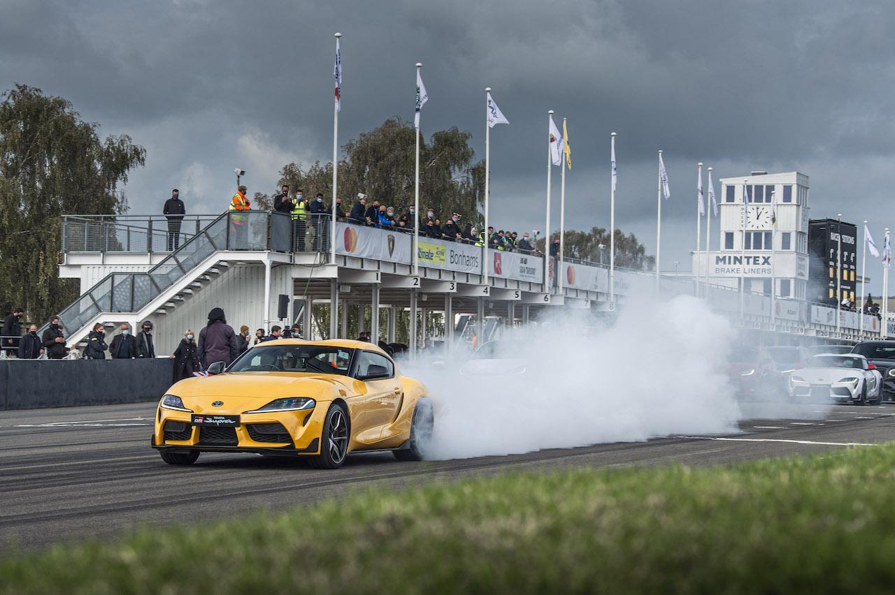 トヨタ GRヤリス&GRスープラ、「グッドウッド・スピードウィーク」で熱い走りを披露
