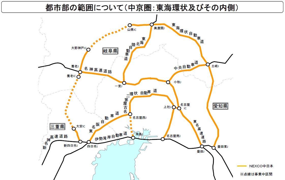 西 名 阪 自動車 道 料金