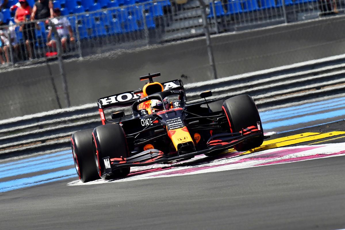 F1フランスGP FP3速報:レッドブル・ホンダのフェルスタッペン、ボッタスに0.7秒差をつけ首位。角田17番手