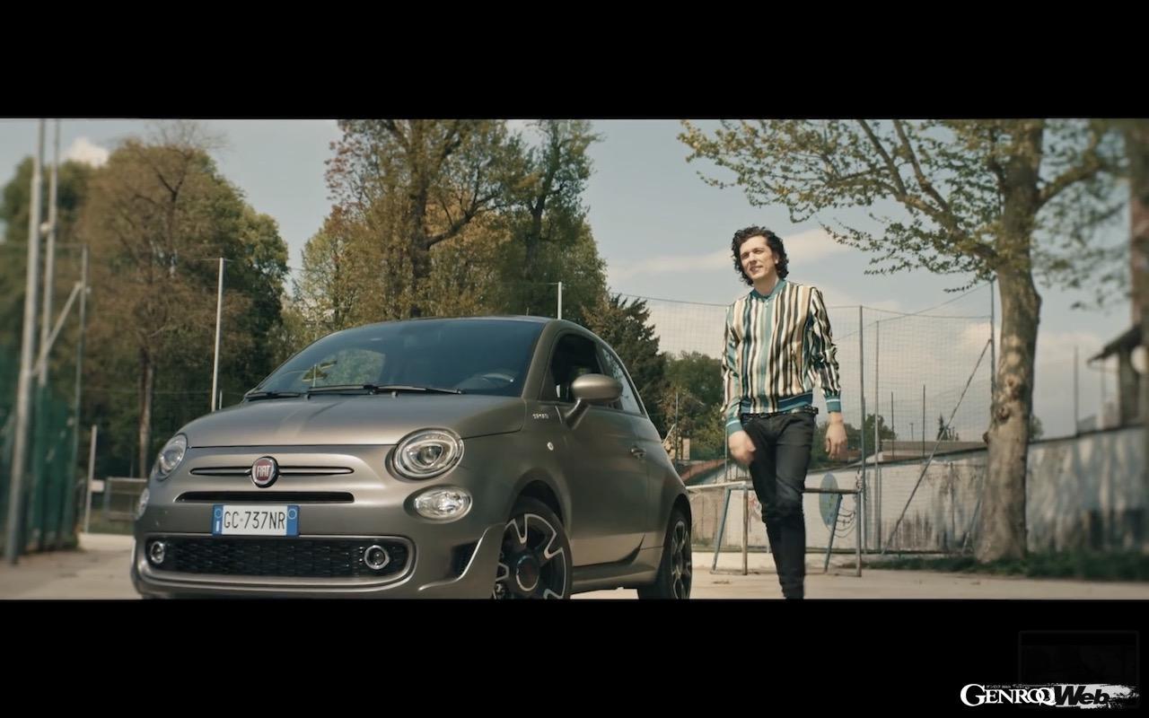フィアット 500 スポーツ ハイブリッド、エルマル・メタの最新ミュージックビデオに登場。【動画】