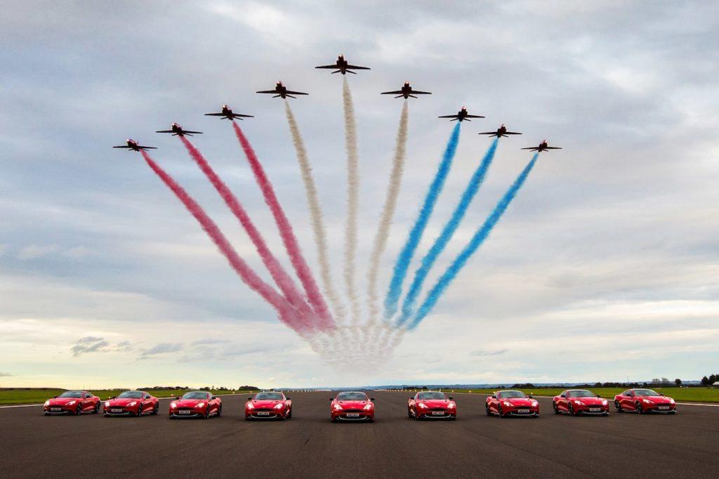 アストンマーティン、航空機関連モデルを統合した「ウィングス・シリーズ」をスタート!
