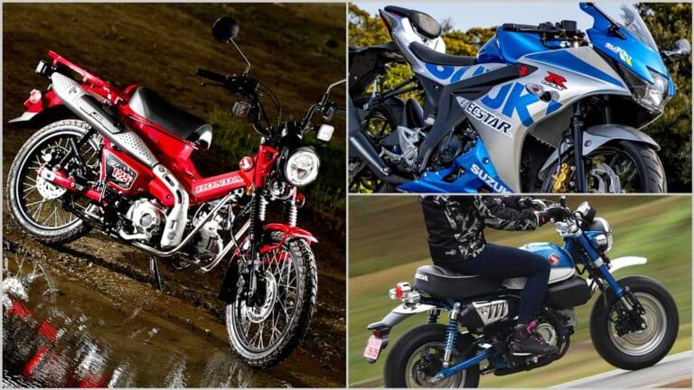 『マシン オブ ザ イヤー2020』結果発表:ストリートスポーツ50~125cc部門【ハンターカブ初戦で勝利】