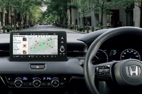 「車載機で使えるナビタイム」新型ヴェゼルに提供 車でインストールするアプリ6つ